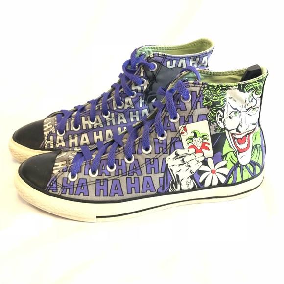 d670a4b7587e Converse All Star Other - Converse All Star Batman Joker Shoes
